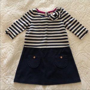 Gymboree Nautical 3/4 Length Sleeves Dress